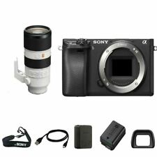 Sony A6300 Digital SLR + 70-200mm f/3.8 GM OSS Lens