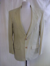"Mens Suit Jacket - M&S, 36"" chest SHORT, light sand, smart/casual, used - 1213"