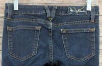 Vigoss Womens Jeans Studio Skinny Dark Wash Low Rise Denim Size 3/4 (28 x 29)