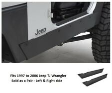 Jeep XRC Rock Sliders without Step for 97-06 Jeep TJ Wrangler