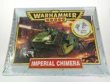 Games Workshop Warhammer 40k Chimera Tank 1st Edition Imperial Guards Metal Crew
