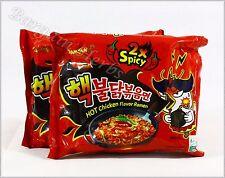 2 Bags Samyang 2x Spicy Hot Chicken Flavor Ramen Asian Noodle Halal 09/15/2019