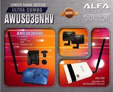 Alfa R36 + Alfa AWUS036NHV   + 2 Alfa APA M04 Antenna Super Saving Pakage