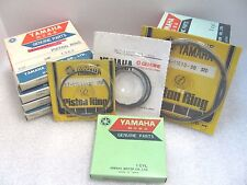 NOS OEM Yamaha Piston Rings  134-11610-20 2nd over