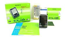 Sony Clie PEG-SL10 PDA HandHeld Organizer With Screen Protector Stylus Used