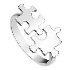 Autism autistic awareness puzzle piece RING one size adjustable gift jewellery