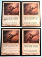 Shackles x4 Invasion 4x Playset Magic the Gathering MTG