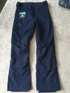 Men's Salomon Salopettes small NWT