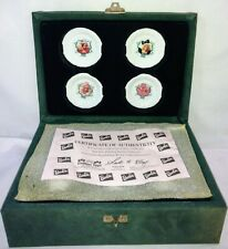 Vintage Barbie Holiday Edition Childs China Tea Set C.O.A. 1988-1991