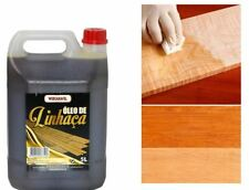 Linseed Oil Traditional Wood Treatment Indoor & Outdoor 5L