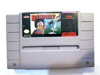 Rampart - SNES Super Nintendo Game Tested + Working & Authentic!