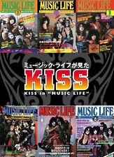 RARE JAPANESE BOOK,1970's,PHOTO,KISS in MUSIC LIFE,GENE SIMMONS,OUT OF PRINT