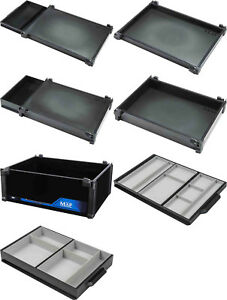 Map Tray & Drawer Add ons for Z30 Z36 & H30 Comp Lite Seat Boxes Coarse Fishing