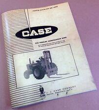 J I CASE 530 FORKLIFT CK CONSTRUCTION KING PARTS CATALOG MANUAL NO. A918