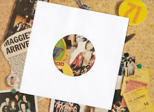 """10 x 7"""" Quality White Generic Paper Record Sleeves for your Vinyl 45s NEW!"""