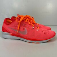 Nike Free 5.0 TR Fit 5 Women's Size US 8.5 Athletic Running Training Shoes Peach