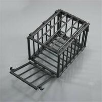 1/6 Scale Scene Plastic Black Animal Cage Model For 12'' Action Figure Diagram