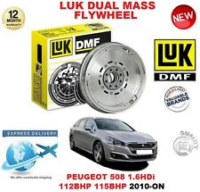 FOR PEUGEOT 508 1.6 HDi 112 115 BHP 2010-ON ORIGINAL LUK DMF DUAL MASS FLYWHEEL