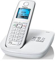 Gigaset A510A Schnurlostelefon (beleuchtetes Display) AB, DECT ECO Weiß
