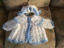 hand crochet baby cardigan size 3-6