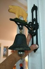 Cast Iron vintage pig call dinner bell