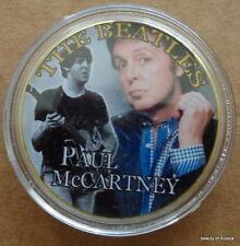 The Beatles Paul McCARTNEY  24KT GOLD MEMORABILIA COLLECTIBLE COIN  #27SE