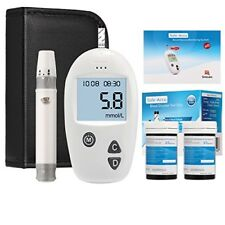 Diabetetic Test Kit Blood Glucose Monitoring Sugar Level Test Kit 50 Strips