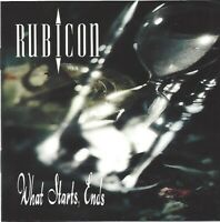 RUBICON / WHAT STARTS, ENDS * NEW CD * NEU *