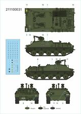 Arsenal-M HO scale Roket tank with SS-11 rokets plastic kit