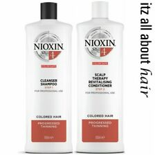 Nioxin System 4 Cleanser & Scalp Revitaliser 1 Litre Duo