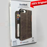 NEW Twelve South BookBook Wallet ID Folio Brown Leather Case for iPhone 6S Plus