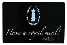 Trixie King of Dogs Place Mat 44 X 28 Cm Black Pack of 6