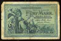 ALLEMAGNE  5 mark 1904