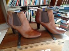 New Frye Leather Brown ankle boots size 8 US