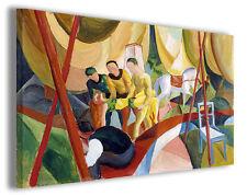 Quadro moderno August Macke vol VIII stampa su tela canvas pittori famosi