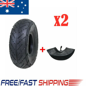2 Sets 3.00-4 9x3.0-4 Tyre Tire + Inner Tubes For Scooter Go Karts Road Tyres