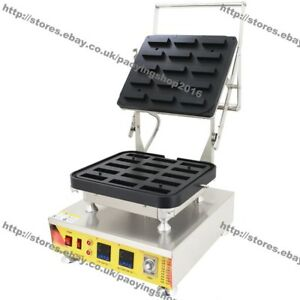 Heavy Duty Nonstick Electric Mini Rectangle Pastry Tartlet Shell Maker Machine