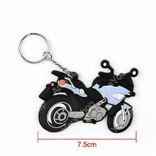 Rubber Motorcycle Model Cool Keyring Keychain Key Chain Pendant For Toyota AY