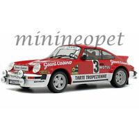 SOLIDO S1800804 1979 PORSCHE 911 SC GR4 RALLY 1/18 #3 D' ARMOR RED / WHITE