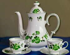 Mitterteich Large Coffee Pot & Pair of Coffee Cups & Saucers
