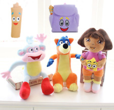 5pcs Dora The Explorer Swiper Fox Boots Monkey Backpack Map Plush Toy Soft Doll