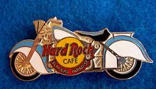 SURFERS PARADISE LEFT FACING BLUE & WHITE MOTOR CYCLE BIKE Hard Rock Cafe PIN
