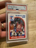 Michael Jordan PSA 5 Collector 1989 Hoops #21 Chicago Bulls INVEST Last Dance NR