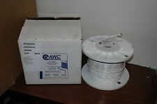 AWC MIL SPEC WIRE M27500-18 TA2N06 AIRCRAFT CABLE 18 AWG 2 CONDUCTOR 500 FT NICE