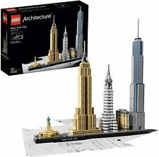Lego Architecture Skyline New York City Set (21028) 598 Pieces New Sealed