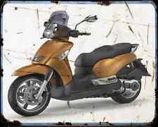 Aprilia Scarabeo 500 03 02 A4 Metal Sign Motorbike Vintage Aged