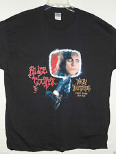 NEW - ALICE COOPER BAND / CONCERT / MUSIC T-SHIRT EXTRA LARGE