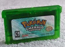 Pokemon Emerald - Nintendo Game Boy Advance SP GBA Cartridge Gameboy GBC DS NDSL