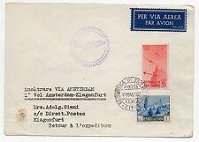 1953 SAN MARINO 1° VOLO AMSTERDAM/KLAGENFURT 17/5 C/9752
