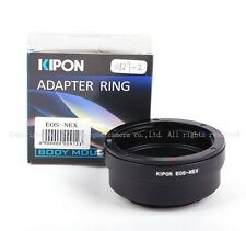 New Kipon Adapter For Canon EOS EF Lens to Sony NEX E Mount NEX-7/6/5 a7 a7r